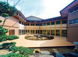 九州・中四国で初のビハーラ病棟(仏教の精神にもとづいた緩和ケア病棟)パリアティブケア、ターミナルケアの聖恵ビハ−ラ(緩和ケア)病棟